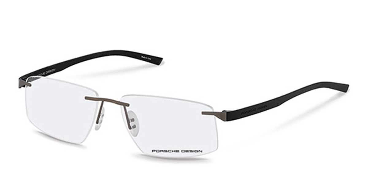 Porsche Design P8344 A Men's Glasses Grey Size 58 - Free Lenses - HSA/FSA Insurance - Blue Light Block Available