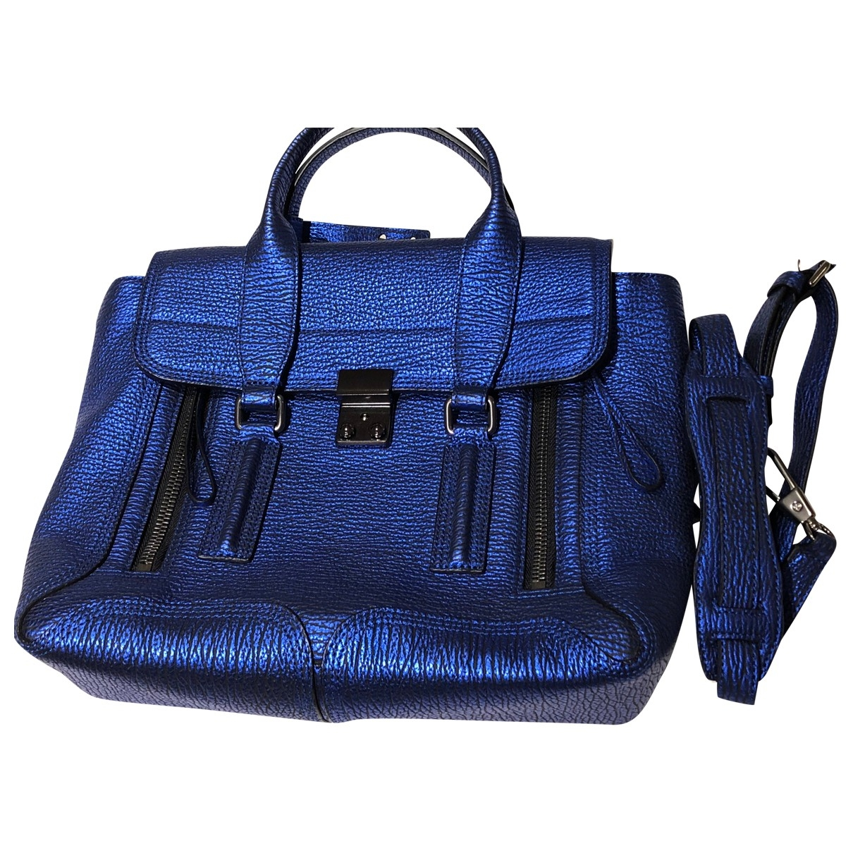 3.1 Phillip Lim Pashli Blue Leather handbag for Women \N