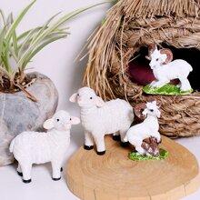 1pc Sheep Shaped Decorative Object
