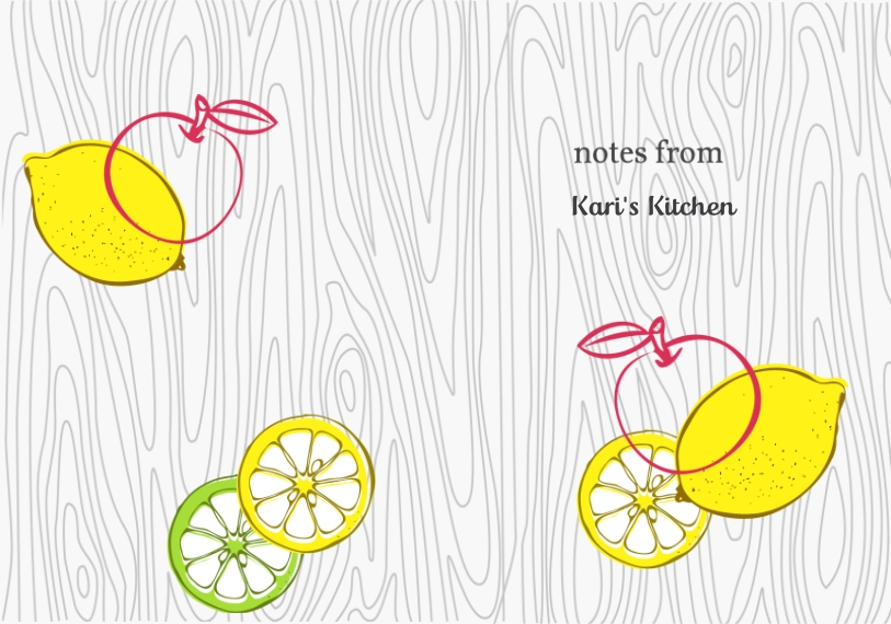 Notebooks and Journals Hardcover Journal, 5.75x8, Card & Stationery -Fruits Notes