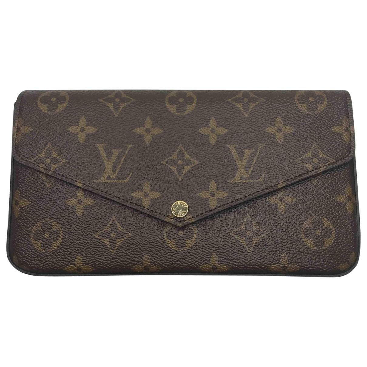 Louis Vuitton \N Kleinlederwaren in  Braun Leder