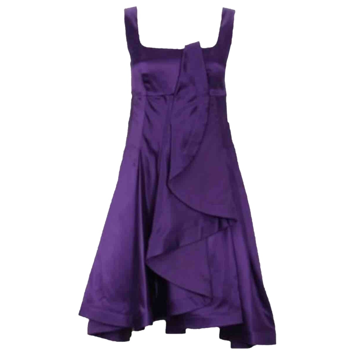 Celine - Robe   pour femme en soie - violet
