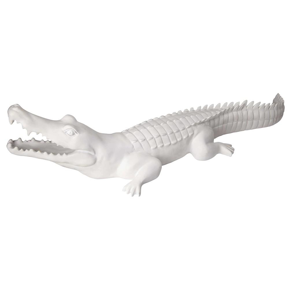 Mattweisses Krokodil L88