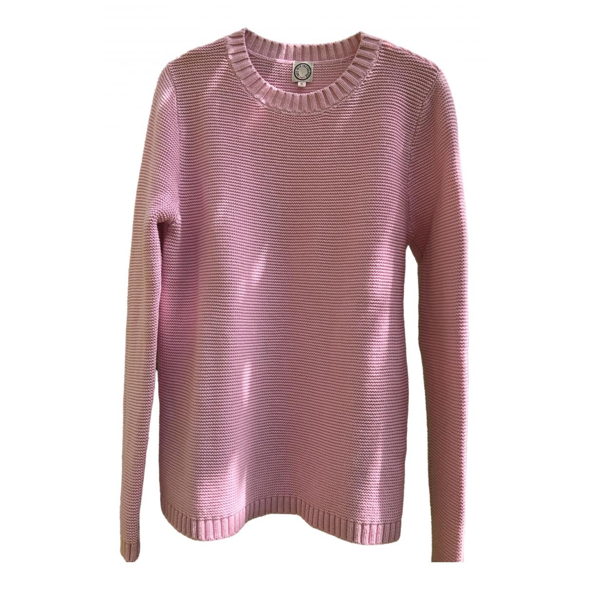 Ines De La Fressange Paris - Pull   pour femme en coton - rose