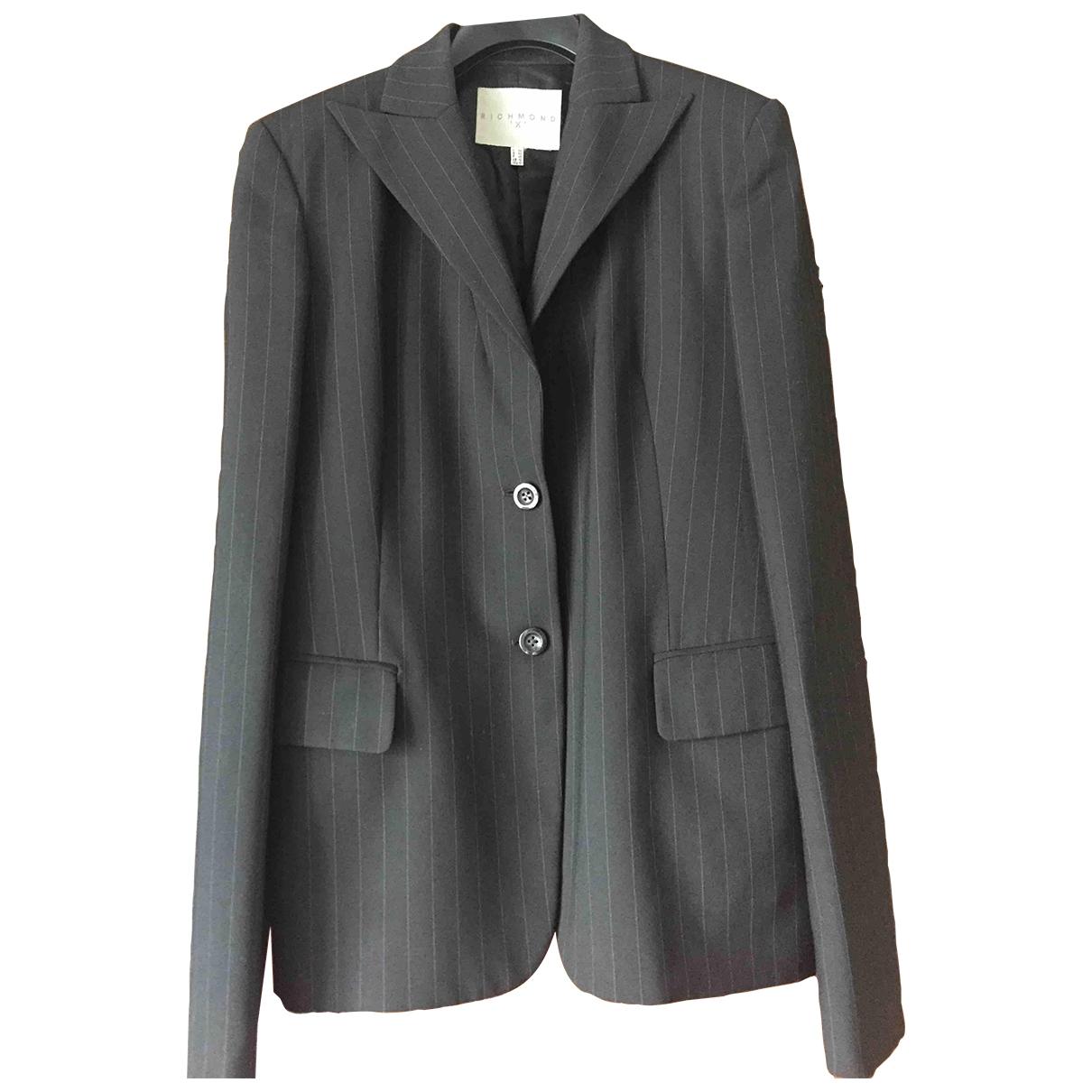 John Richmond - Veste   pour femme en laine - noir