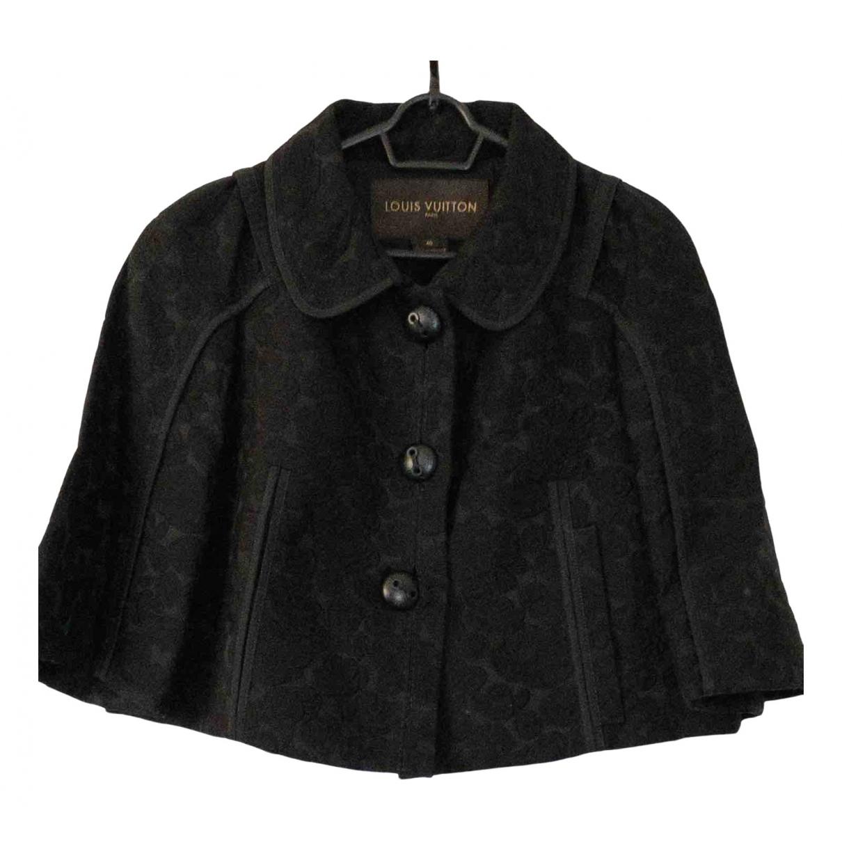 Louis Vuitton \N Jacke in  Schwarz Baumwolle
