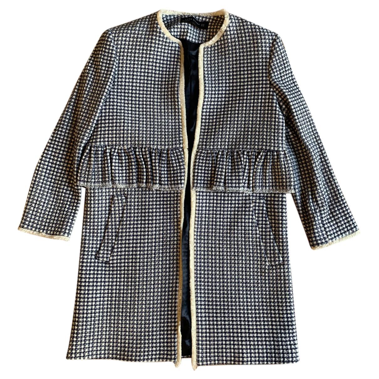 Zara - Manteau   pour femme - bleu