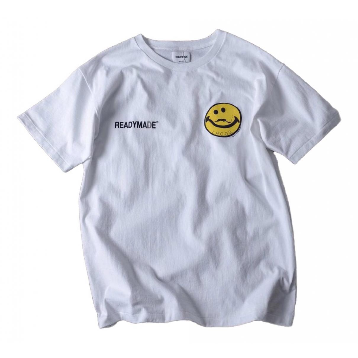 Readymade - Tee shirts   pour homme en coton - blanc