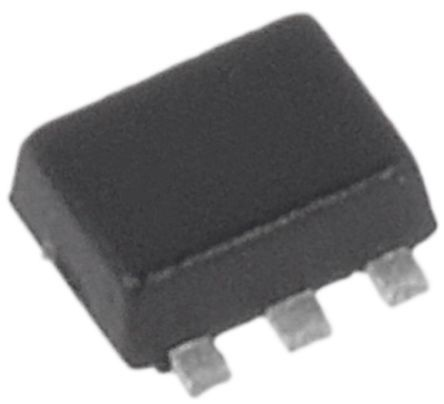 ON Semiconductor Dual N-Channel MOSFET, 540 mA, 20 V, 6-Pin SOT-563  NTZD3154NT1G (4000)