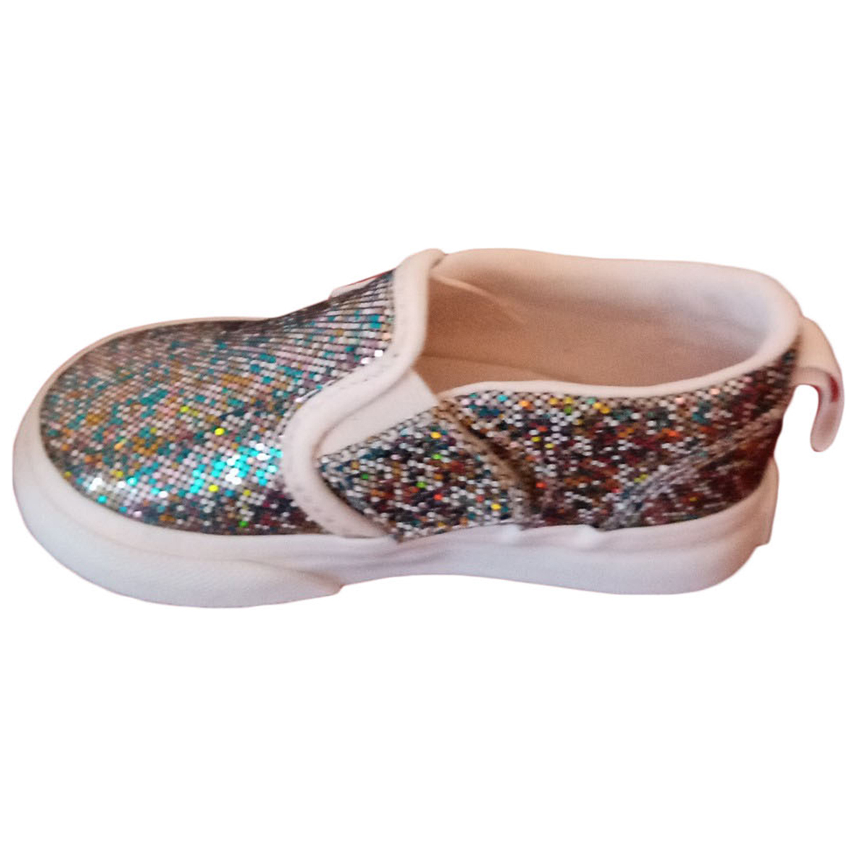 Vans - Baskets   pour enfant en a paillettes - multicolore