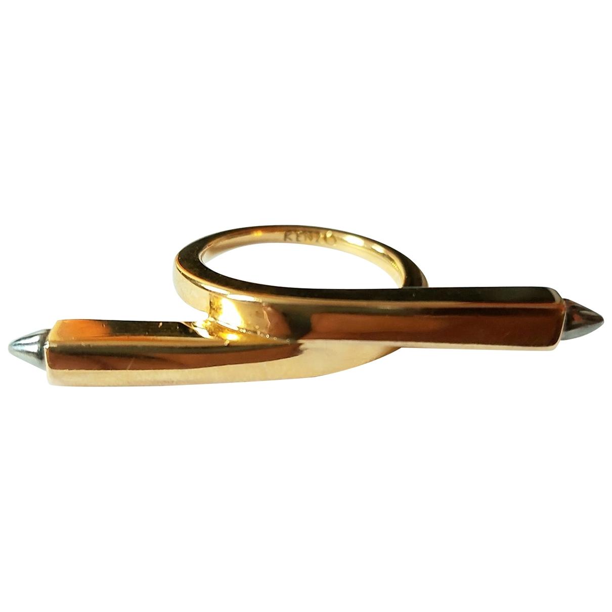Kenzo \N Ring in  Gold Vergoldet