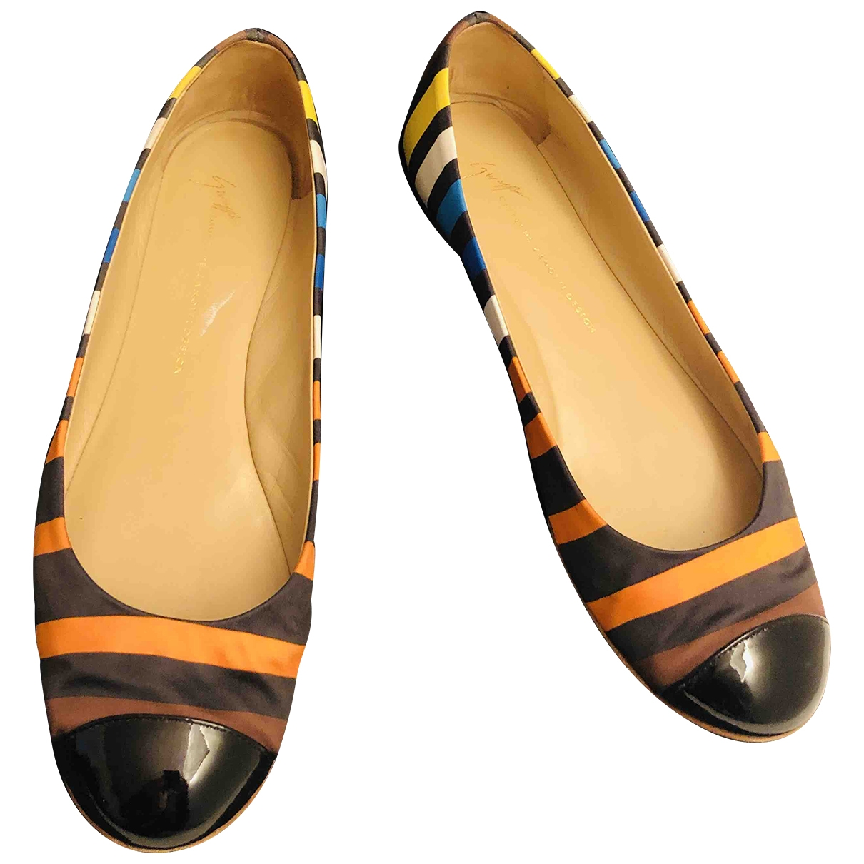 Giuseppe Zanotti \N Multicolour Cloth Ballet flats for Women 38.5 EU