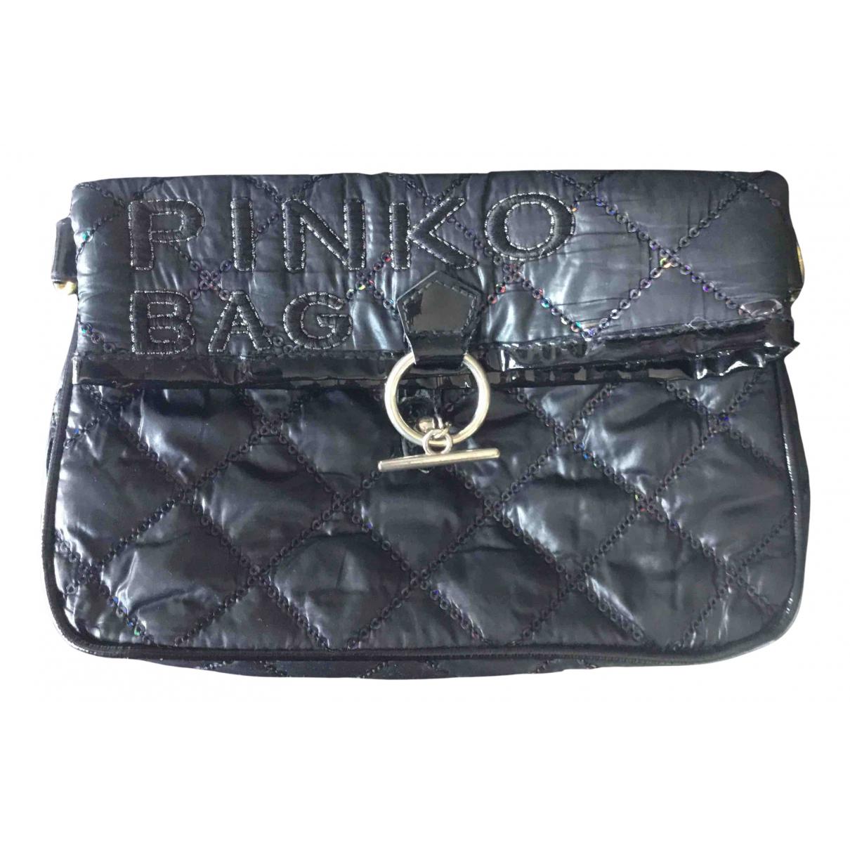 Pinko \N Clutch in  Schwarz Polyester