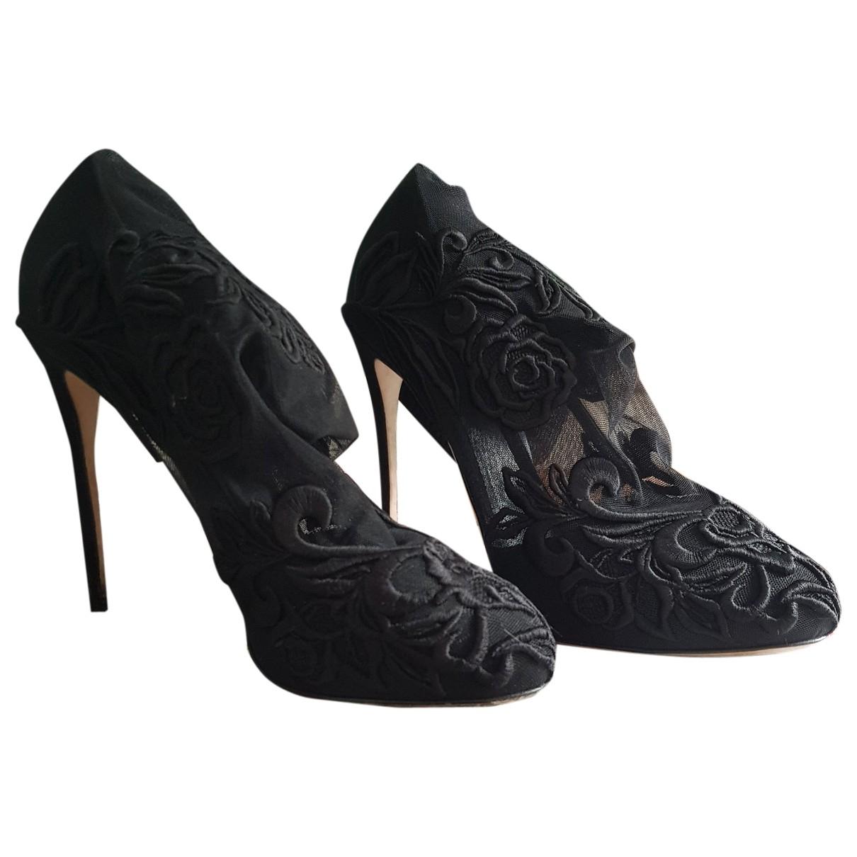 Botines de Lona Dolce & Gabbana