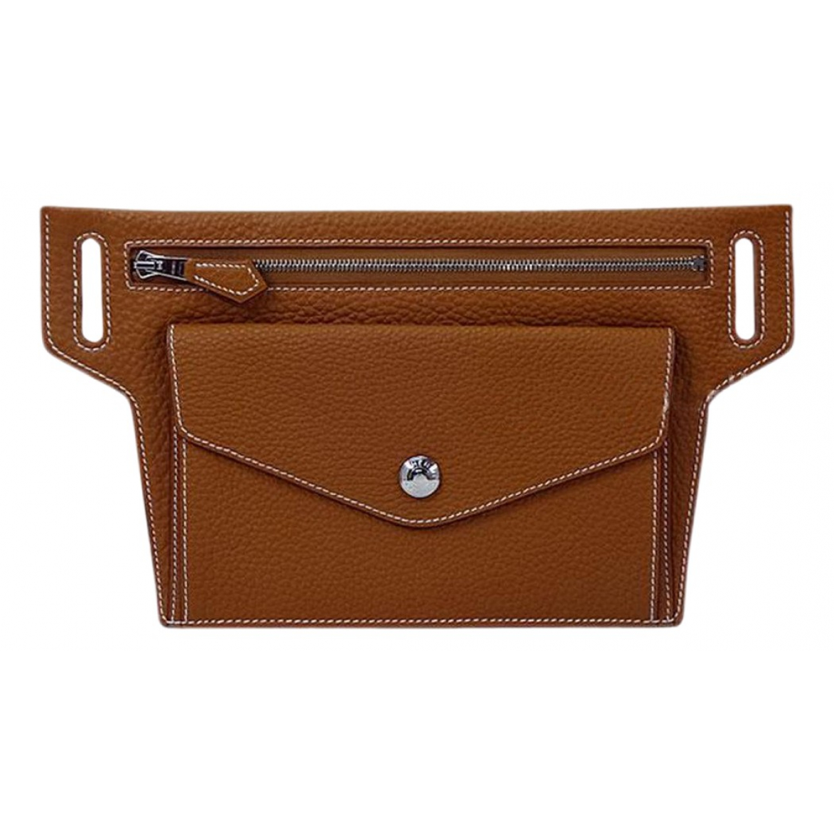 Hermès \N Brown Leather belt for Women XS