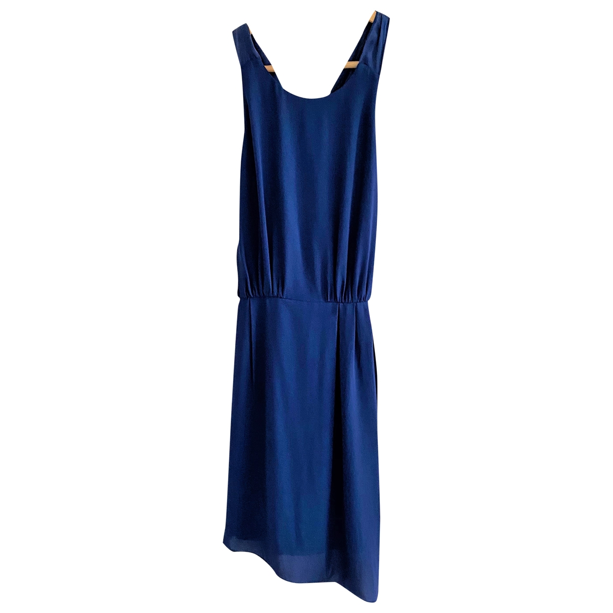 Elizabeth And James \N Blue Silk dress for Women 2 US