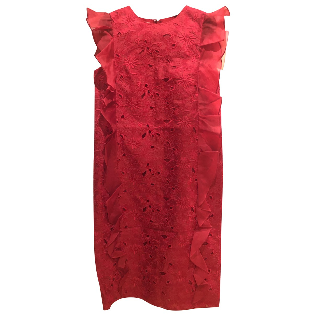 Giambattista Valli \N Kleid in  Rot Seide