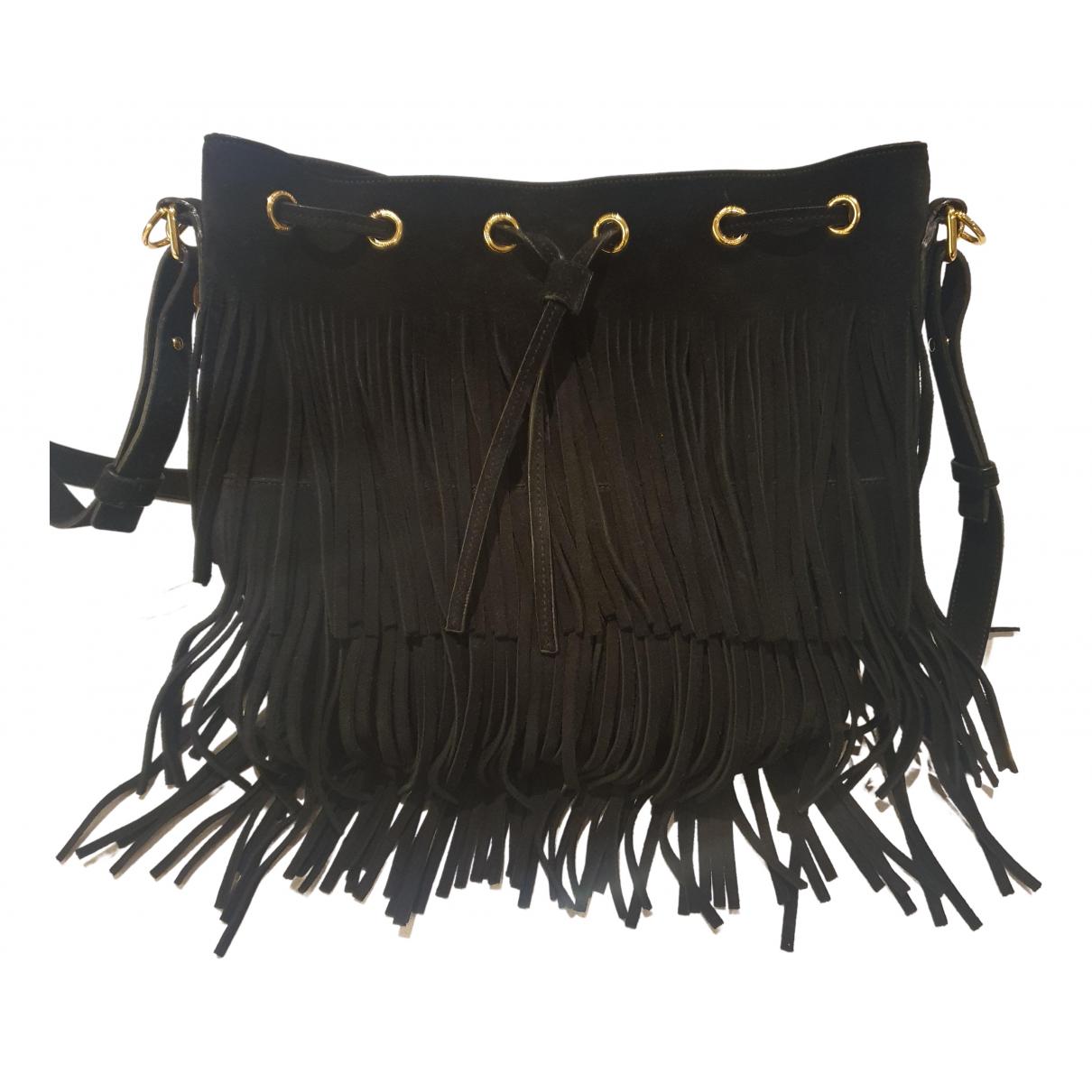 Saint Laurent Emmanuelle Black Suede handbag for Women \N