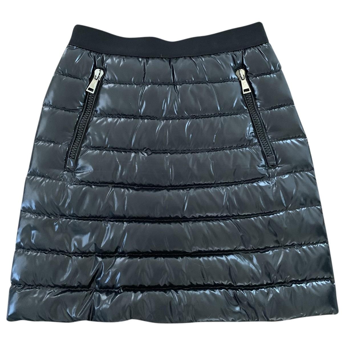 Moncler \N Rocke in  Schwarz Polyester