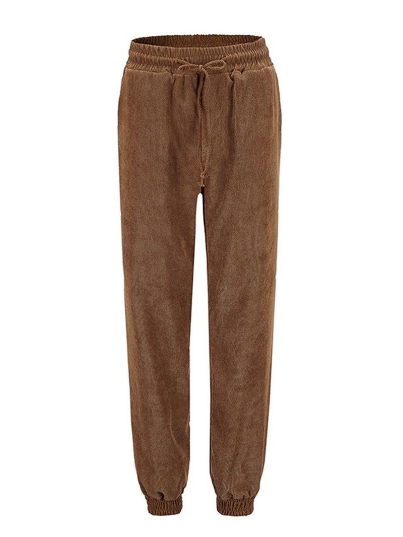Ericdress Skinny Plain High Waist Pencil Pants Casual Pants