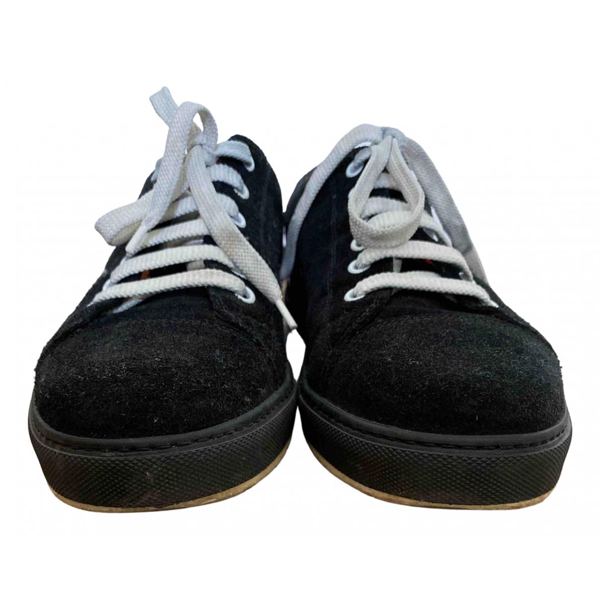 Marc Jacobs \N Sneakers in  Schwarz Veloursleder