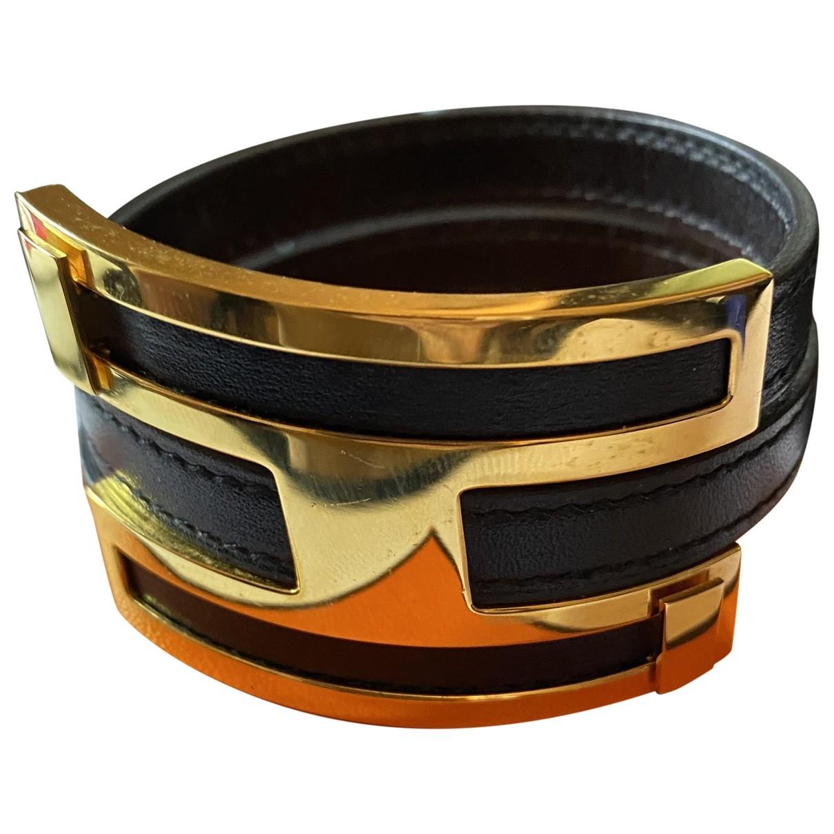 Hermes \N Armband in  Bunt Leder