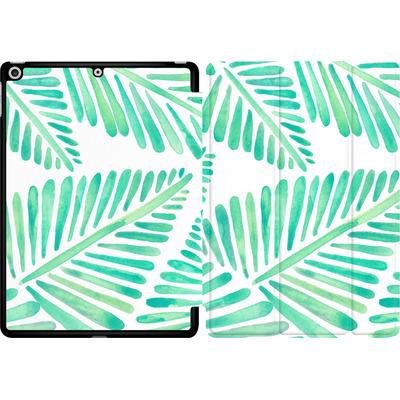 Apple iPad 9.7 (2017) Tablet Smart Case - Banana Leaves Seafoam von Cat Coquillette
