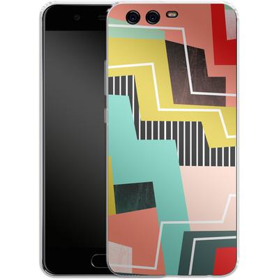 Huawei P10 Silikon Handyhuelle - Color Block I von Susana Paz