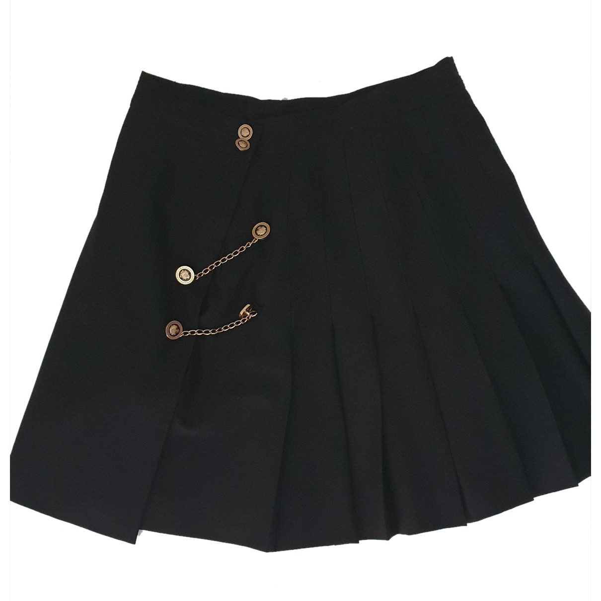 The Kooples N Black Wool skirt for Women 2 0-5