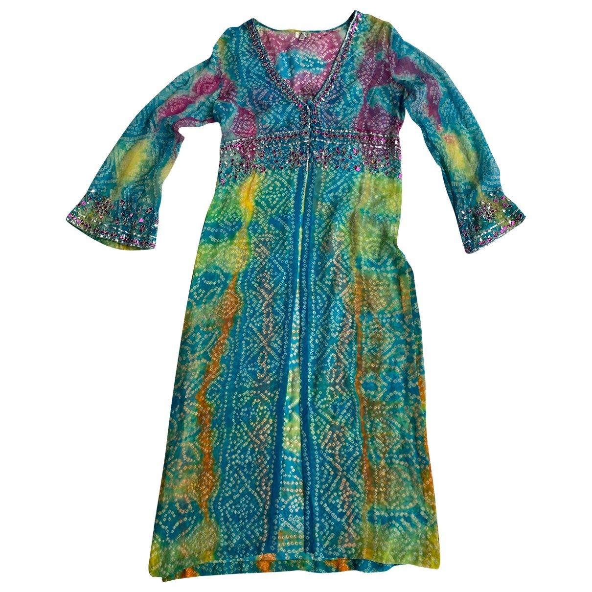 - Bain   pour femme en soie - turquoise