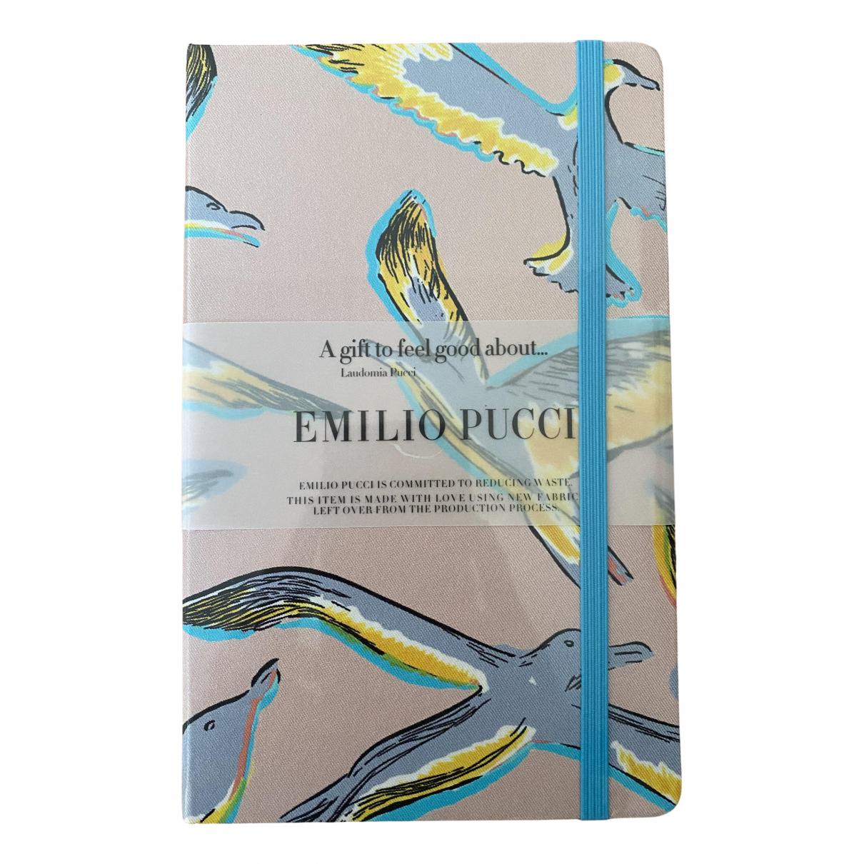 Emilio Pucci \N Accessoires und Dekoration in Leinen