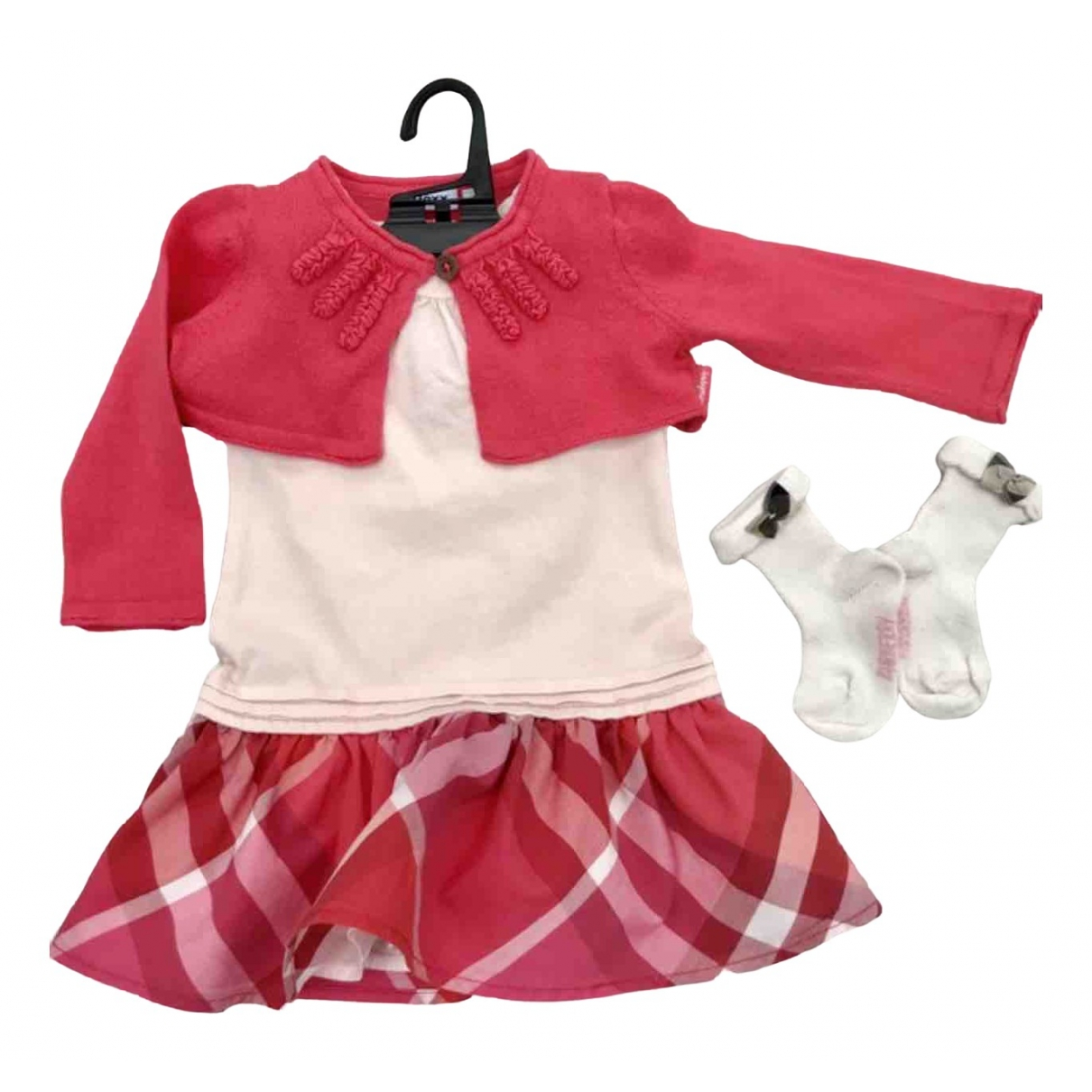 Burberry \N Pink Cotton Outfits for Kids 3 months - up to 60cm FR