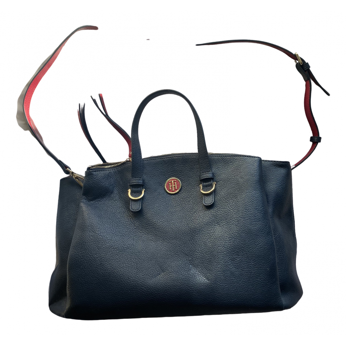 Tommy Hilfiger \N Navy Patent leather Clutch bag for Women \N