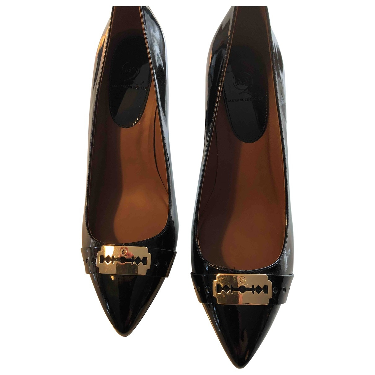 Mcq \N Black Patent leather Heels for Women 39 EU