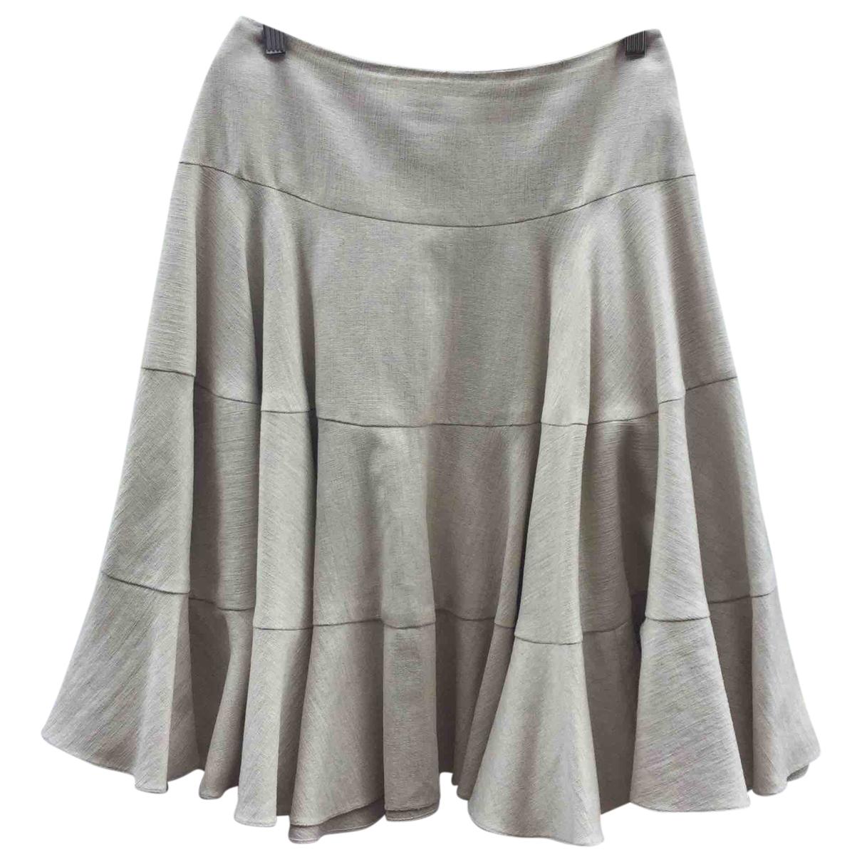Dior \N Rocke in  Beige Baumwolle