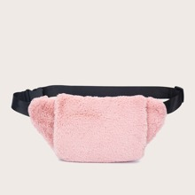 Minimalist Fluffy Fanny Pack