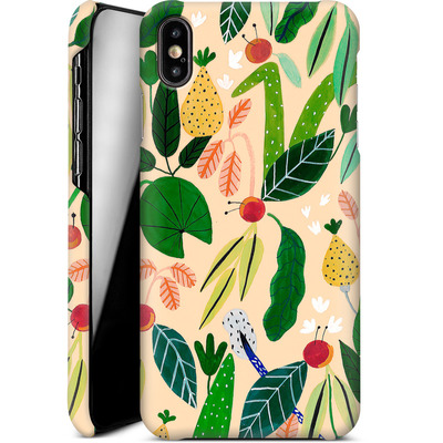 Apple iPhone XS Max Smartphone Huelle - Tropical Greens von Iisa Monttinen
