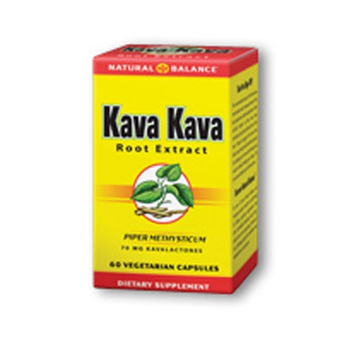 Kava Kava Root Extract 60 vcaps by Natural Balance (Formerly known as Trimedica)