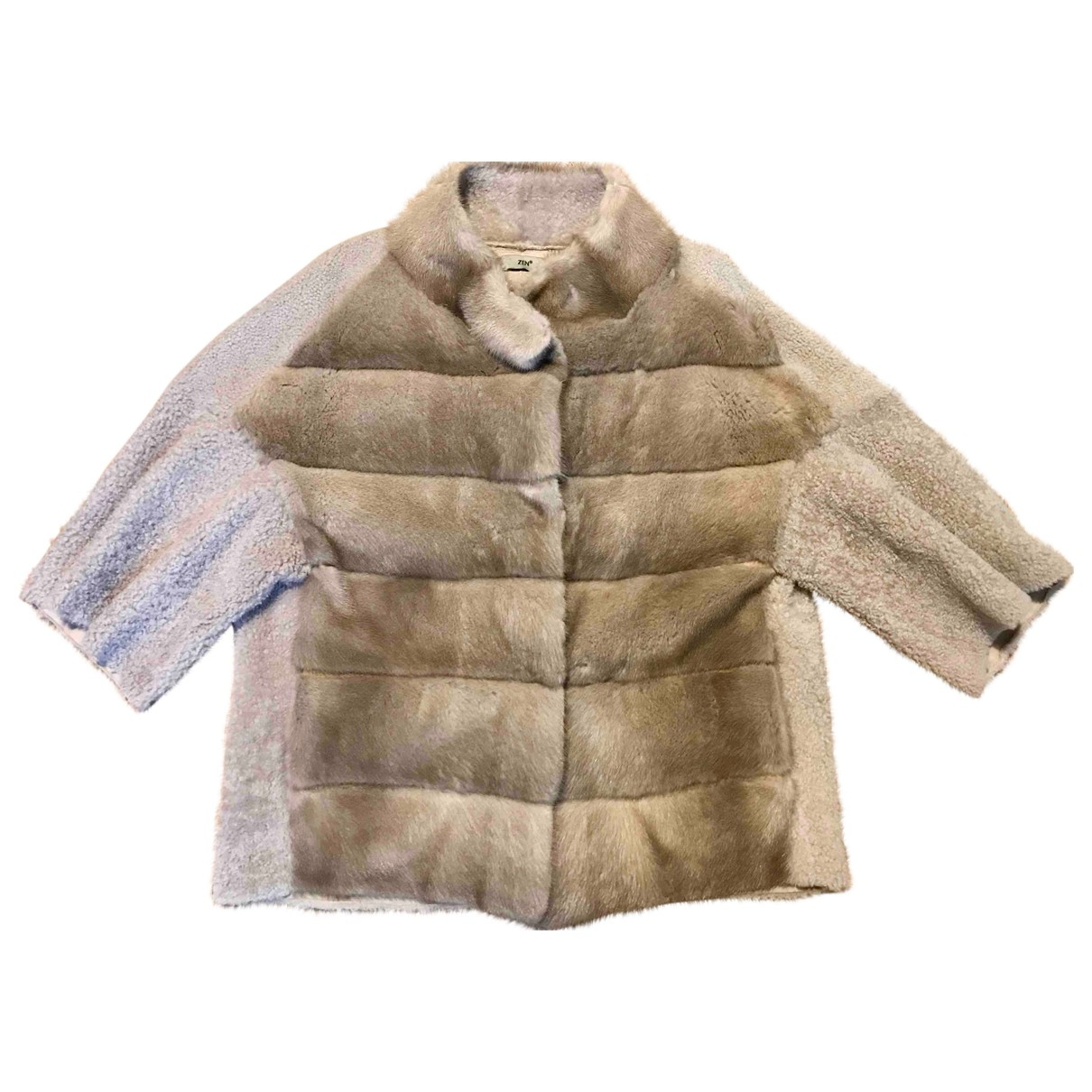 Non Signé / Unsigned \N Grey Mink jacket for Women M International