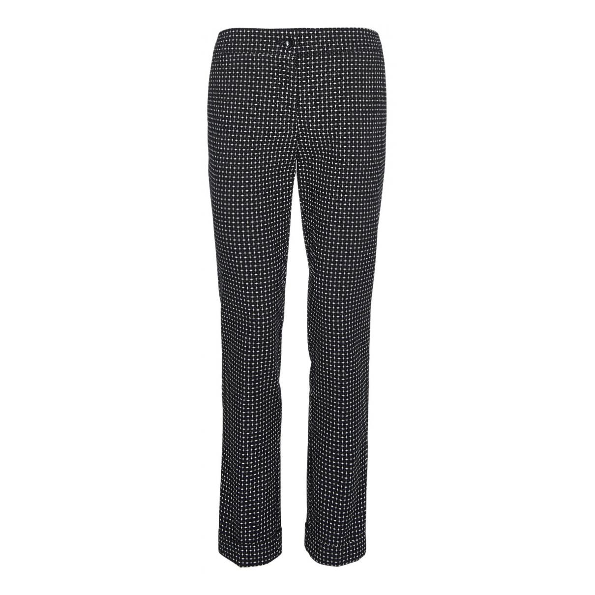 Etro N Multicolour Cotton Trousers for Women 8 UK
