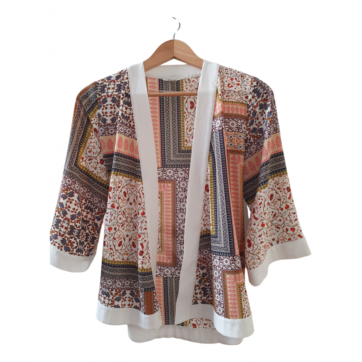 Non Signé / Unsigned N Multicolour  top for Women 38 FR