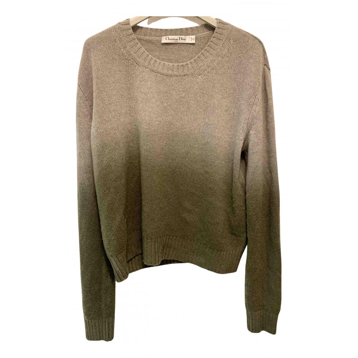 Dior \N Grey Cashmere Knitwear for Women 40 FR