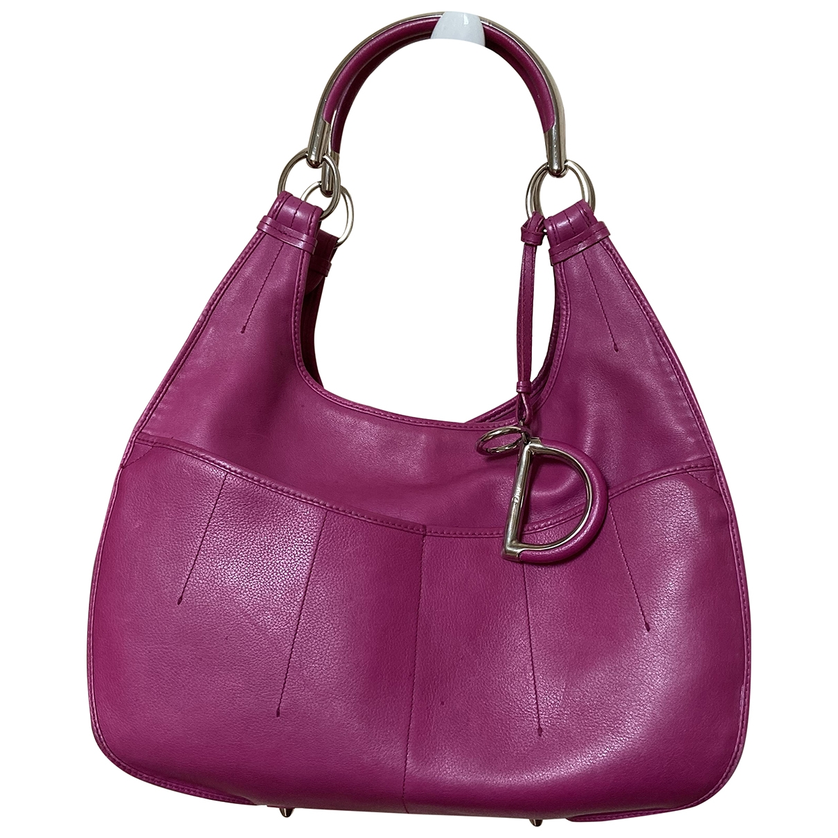 Dior 61 Pink Leather handbag for Women \N