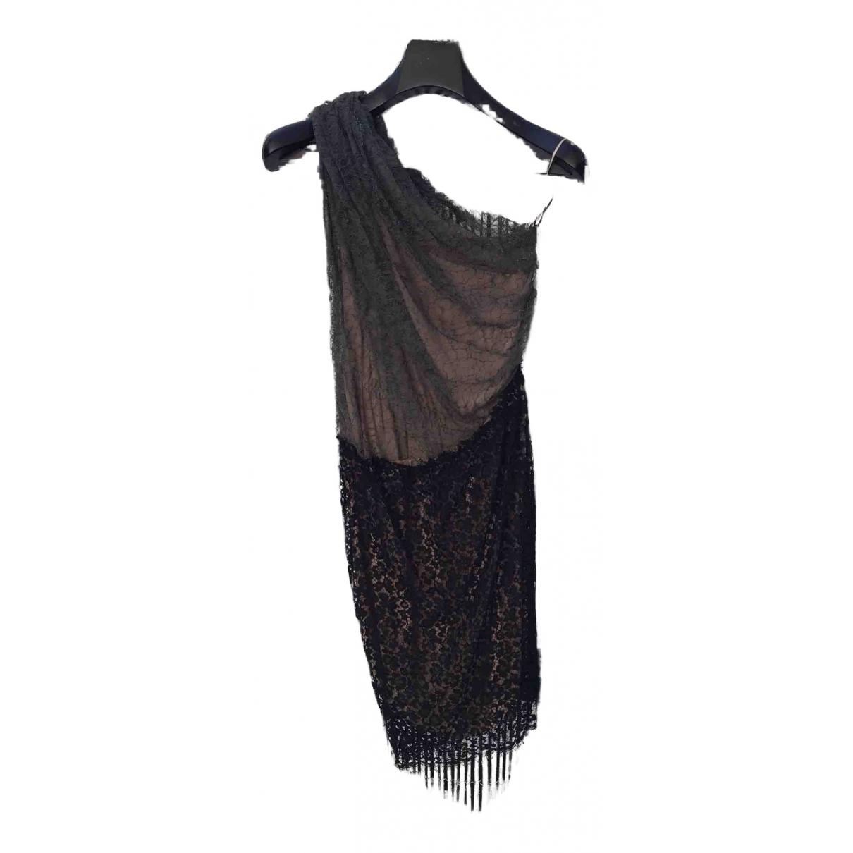 Mini vestido de Encaje Lanvin