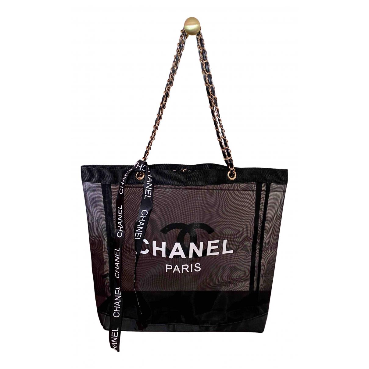 Chanel - Sac a main   pour femme - noir