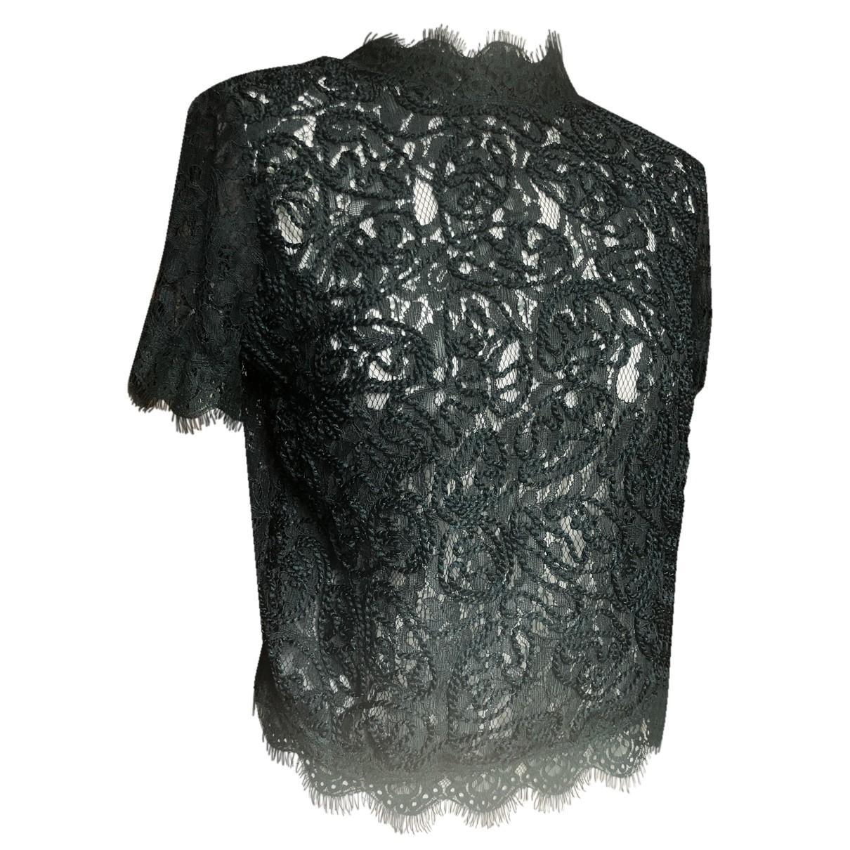 Zara N Green Lace  top for Women M International