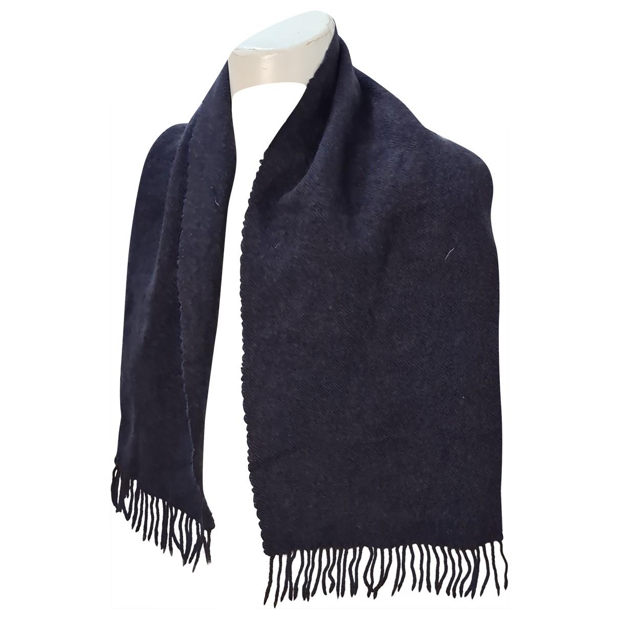 Fendi \N Blue Wool scarf & pocket squares for Men \N