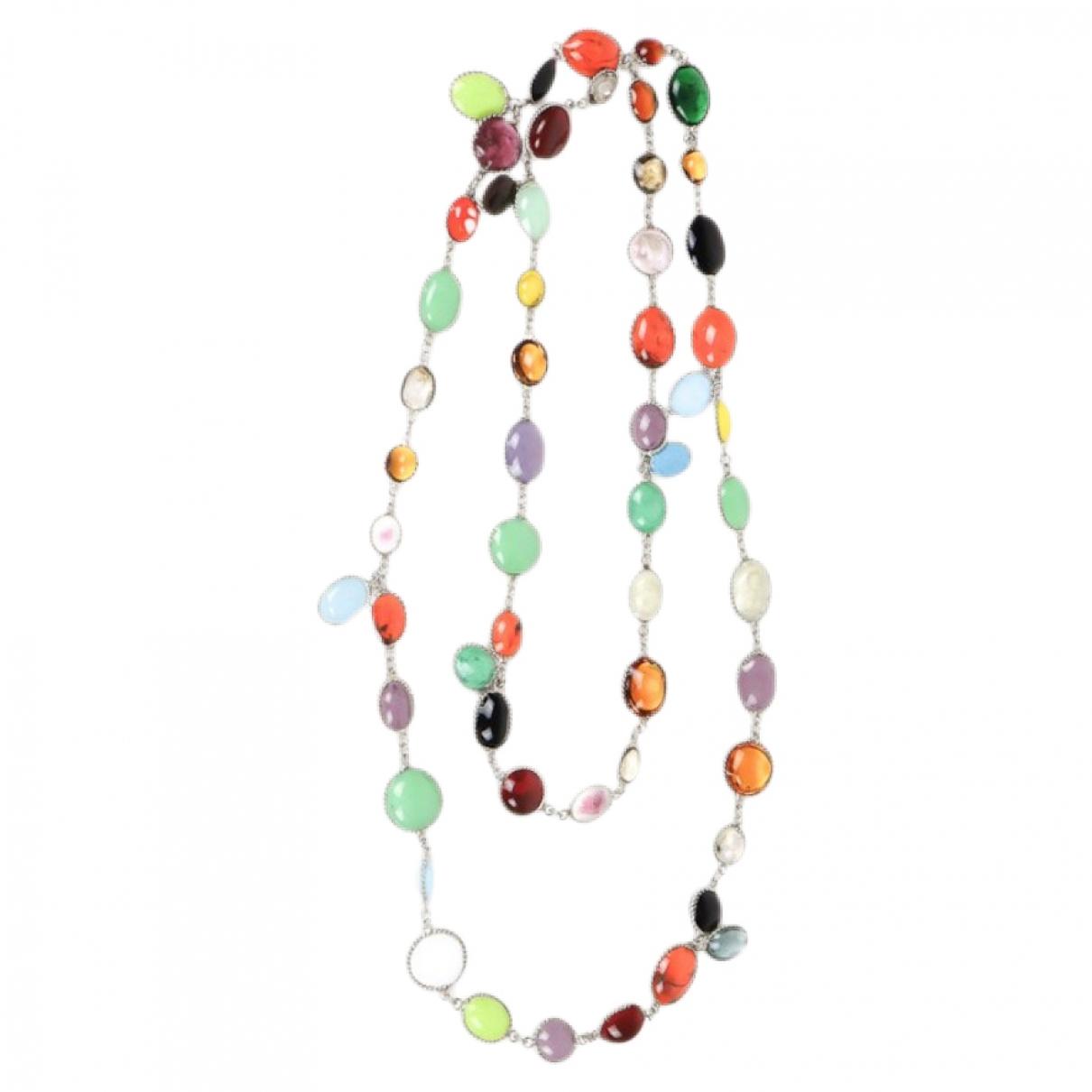 Marguerite De Valois \N Multicolour Glass Long necklace for Women \N