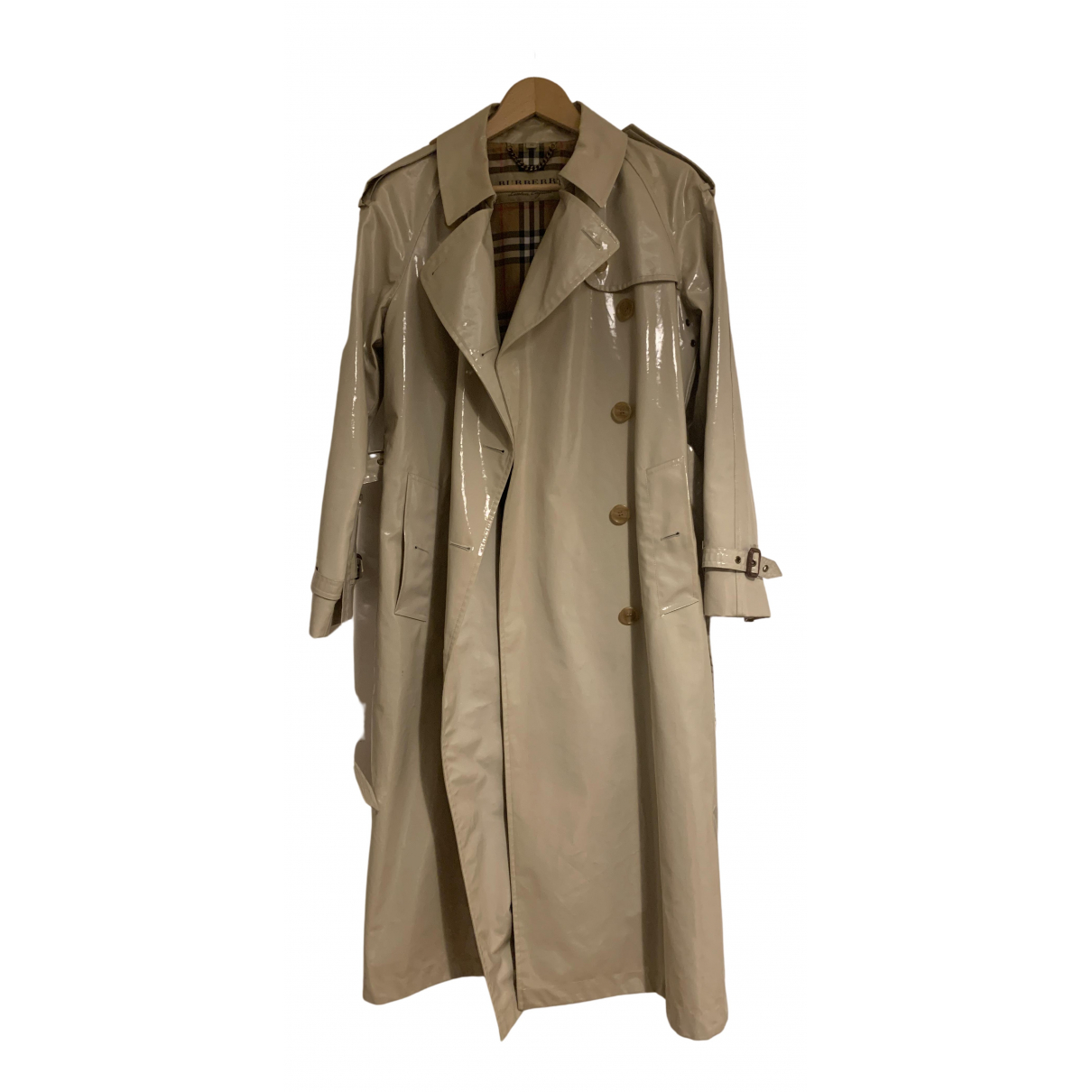 Burberry N Beige Cotton Trench coat for Women 36 FR