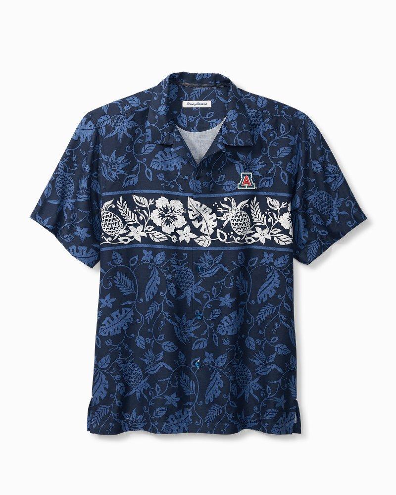 Collegiate Piña Plazzo Silk Camp Shirt